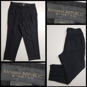 Banana Republic men pleated dress pants size 36R